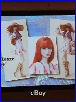 2018 Ifdc Companion Doll Redhead Peace Of My Heart Poppy Parker (nrfb)