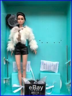 FR Poppy Parker Split Decision Black Dressed Doll Integrity New with Shipper Box