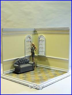 Fashion Corner A Hand Crafted 16 Scale Diorama Room Box 036