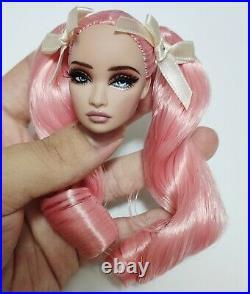 Fashion OOAK Erin Poppy Parker Repaint Doll Head FR Royalty Perfect