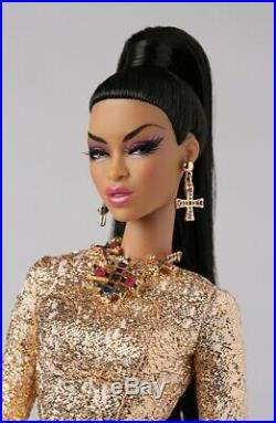 Fashion Royalty Adele Makeda Walking on Gold Integrity Doll Convention NRFB