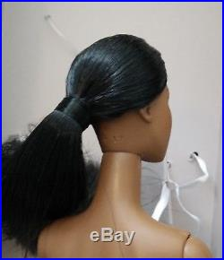 Fashion Royalty Agnes FR Black OOAK Nude FR2 doll only