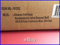 Fashion Royalty FR2 Ombres Poetique Mademoiselle Jolie W Club Excl. Doll NRFB LE