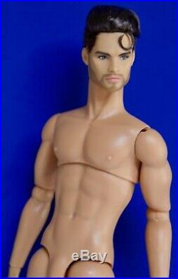 Fashion Royalty Homme / Industry Love Is Love Milo Montez / Nude Doll Only Mint