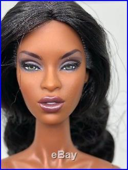 Fashion Royalty Integrity Adele Makeda Glamazon ooak Nude Doll New #1