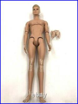 Fashion Royalty Integrity Toys Love is Love Cabot Clark Nude Doll Extra Hands
