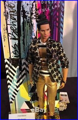 Fashion Royalty Luxe Life Style Lab Milo Montes Dressed doll Metal Head Fashion