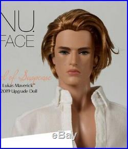 Fashion Royalty NU Face Level of Suspense Lukas Maverick Homme Nude Pre Sale