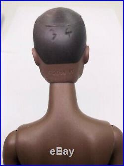 Fashion Royalty Nadja R Dark A Skin Tone NF3.0 Nude Doll Integrity Toys