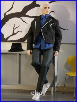 Fashion Royalty Nu Face Style Strategy Lukas Male Doll Outfit Set NEW