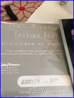 Fashion Royalty NuFace Lukas Maverick Rock Ringmaster Doll in Box with COA #76