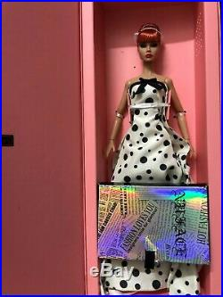 Fashion Royalty Poppy Parker Look A Plenty Integrity Toys Red Dressed Doll