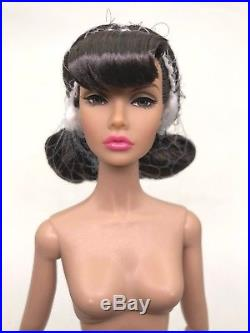 Fashion Royalty Poppy Parker Sign of The Times Nude Black Hair Integrity Doll