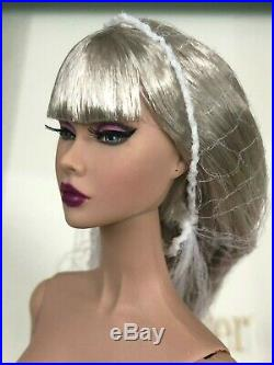 Fashion Royalty Poppy Parker Split Decision Silver Nude Doll Integrity New