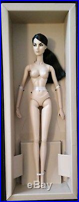 Fashion Royalty Silver Zinger Agnes nude doll only on FR2 Japan body VHTF Rare