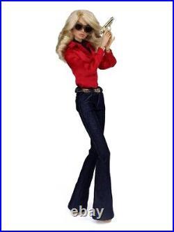 Fashion Royalty poppy parker undercover angel NRFB Farrah Fawcett Doll GIFTSET