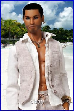 Fashion royalty homme The Monarchs Tajinder Chowdhury Fashion Figure Callum doll