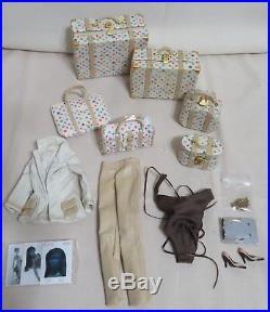 Flawless Glow Adele Perfect Skin Rainbow Luggage Garmet Bag Fashion Royalty
