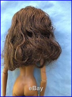 IT Vamp Agnes, hair brushed, with stand, Nude
