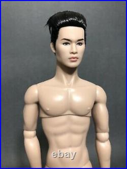 Integrity Toys Fashion Royalty Believe the Hype Tate Tanaka NUDE Homme Industry