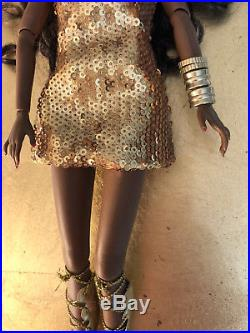 Integrity Toys Fashion Royalty POPPY PARKER MIDAS TOUCH DOLL 2015 Unboxed
