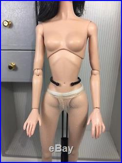 Integrity Toys Fashion Royalty Poppy Parker nude doll only Portrait In Black