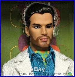 Integrity Toys Man Of Mystery Sergio Silva Nib In Stock Poppy Parker