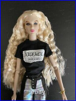 Integrity Toys NuFace Reliable Source Eden Blair Dressed Doll Used pls read