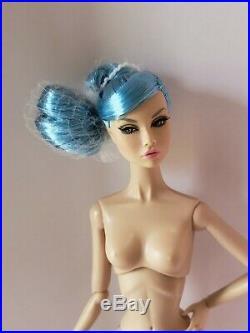 Integrity Toys Poppy Parker Looks A Plenty Azure Blue Hair flat feet Nude Doll