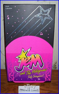 Integrity Toys Synergy MIB complete doll Jem & the Holograms collection