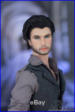 NARAE OOAK 12.5 Fashion Royalty Integrity Toys Custom Repaint FR Homme Doll