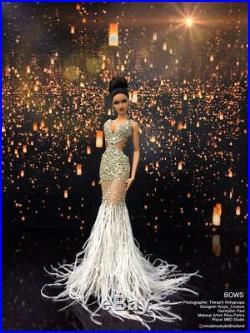 NEW dress for Fashion royalty, nuface silkestone doll by t. D. Fashion OOAK