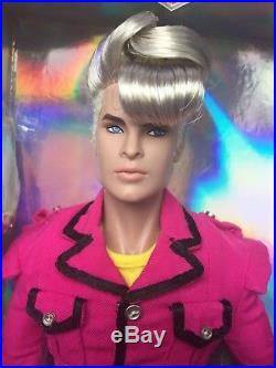 NRFB CALLUM WINDSOR TURN IT UP INTEGRITY HOMME Doll FR FASHION ROYALTY NIB LE650