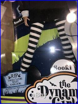 NRFB The Dynamite Girls Spooky Sooki Doll Fashion Royalty Jason Wu 2008 LE RARE