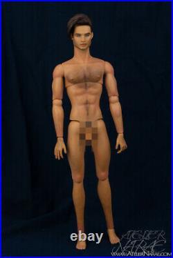 OOAK 12.5 FR Custom Repaint Realistic Art Dressed Homme Doll by Atelier Narae