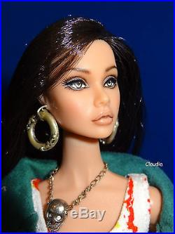 OOAK Fashion Royalty 12 Poppy Parker Repaint by Hyangie NUDE DOLL Stunning