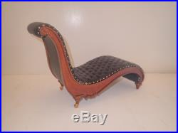 Playscale 1/6 scale doll lounge chair Barbie Fashion Royalty Blythe Icy BJD