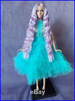 Poppy Parker Mood Changers Lilac Purple hair ooak