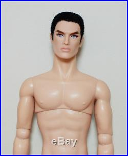 Rock Ringmaster Lukas NUDE Doll Fashion Royalty Homme
