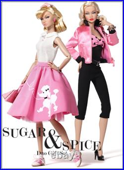 SUAGR & SPICE / Poppy Parker / Duo Doll Set / Wu / Integrity Toys / NRFB