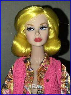 Style Lab Poppy Parker Heads Up doll Yellow Lemon on body- Nude Doll only