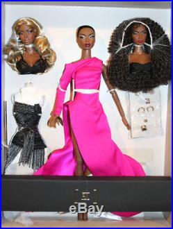 The Faces of Adele Dressed Doll Gift Set 2017 W Club Fashion Royalty NRFB